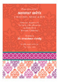 Damask Elegance Invitation