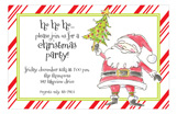 Darling Santa Invitation