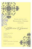 Deco Corners Invitation