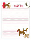 Dog Lovers Notepad