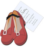 Dorothy Shoes Invitation