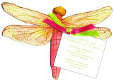 Dragon Fly Invitation