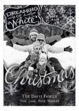 Dreaming of a White Christmas Photo Card