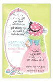 Dress Up Fashion Party Invitation
