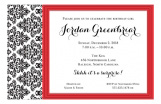 Elegant Affair Invitation