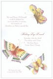 Enamel Butterflies Invitation