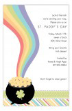 End of the Rainbow Invitation