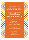 Fall Graphic Invitation