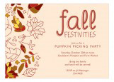 Fall in Place Invitation