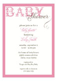 Fancy Pink Invitation