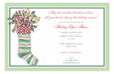 Fancy Stocking Invitation