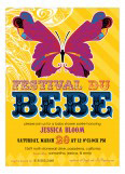 Festival Du Bebe Invitation