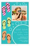 Festive Flops Photo Card