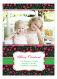 Festive Holly Photo Card