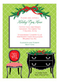 Festive Open House Invitation
