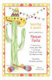 Fiesta Cactus Invitation
