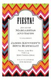 Fiesta Chevron Invitation