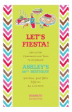 Spicy Fiesta Margarita & Tacos Invitations
