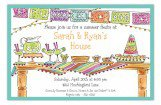 Fiesta Party Table Invitation