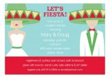 Fiesta Wedding Blond Invitation
