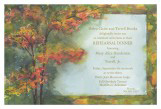Flaming Tree Invitation