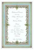 Floral Border Invitation