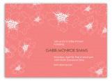 Floral Pink Invitation