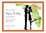 Flordia Couple Invitation