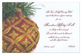 Florentine Ball Invitation