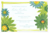 Flower Power Invitation