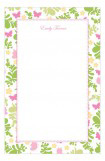 Fluttering Floral Notepad