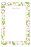 Fluttering Floral Notepad