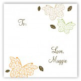 Fluttering Leaves Gift Tag