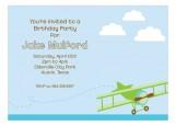 Flying in the Sky Invitation