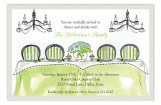 Formal Table Luncheon Bridal Shower Invitation