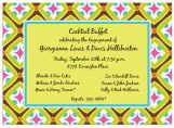 Fun Tile Pattern Invitation