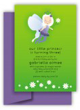 Gabriella in Green Invitation