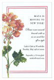 Geranium Invitation