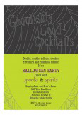 Ghoulish Cocktails Invitation