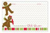 Gingerbread Folks Recipe Card
