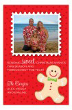 Gingerbread Man Photo Card
