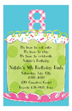 Girl Eighth Birthday Invitation