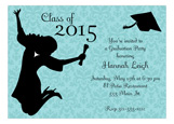 Girl Grad Invitation