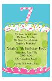 Girl Seventh Birthday Invitation