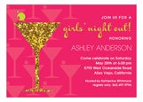 Girls Night Glitz Invitation