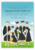 Glamour Grad Group Invitation