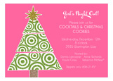 Glitter Tree Invitation