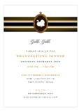 Gobble Gobble Thanksgiving Dinner Invitations
