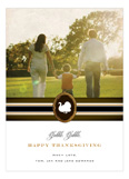 Gobble Gobble Happy Thanksgiving Photo Card