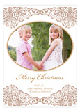 Merry Christmas Golden Age Photo Card